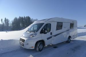 viajar caravana invierno