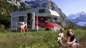 viajar caravana niños