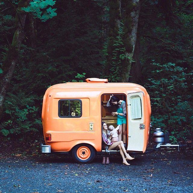 Caravanas vintage Las caravanas antiguas ms bonitas y