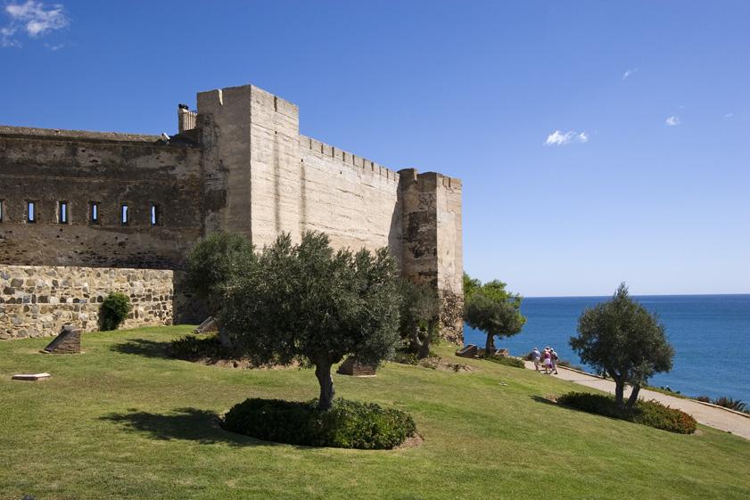 Castillo Sohail fuengirola ruta por andalucia viajar en caravana