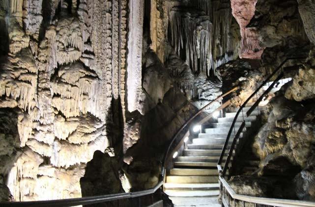 cuevas nerja ruta por andalucia viajar con caravana