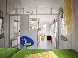 espejo habitación decoración caravana
