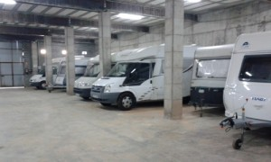 Parking Caravanas Cubierto