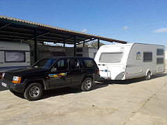 Parking Caravana Cubierto