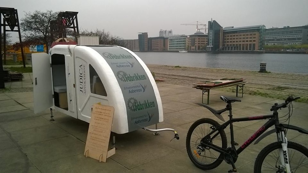 caravana bicicleta complemento rutero