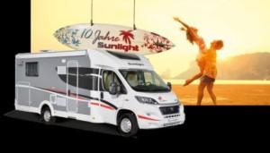 10 años Sunlight caravanas y autocaravanas