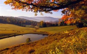 viajar otoño caravana autocaravana